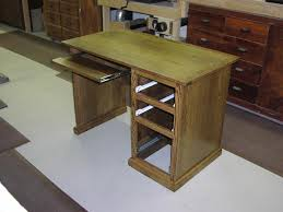 Desk With Pull Out Table Dale U0026 Tricia U0027s Website Custom Furniture Cabinetry 16 Computer