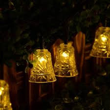 String Lights Outdoor Wedding by Online Get Cheap Bell String Lights Aliexpress Com Alibaba Group