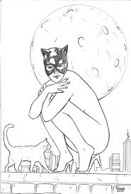 catwoman coloring pages chibi catwoman coloring pages viewing