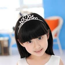 hair bands for babies aliexpress buy rhinestone princess crown headband baby girl