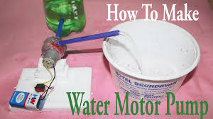 Easy To Make Toy Box by How To Make A Mini Water Motor Pump At Home Easy Way Youtube