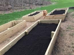 building raised garden beds stieve says