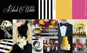 black u0026 white wedding decor visions event studio
