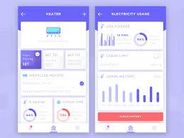 30 Inspiring examples of smart home app – Muzli Design Inspiration