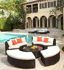 Outdoor Furniture Sectional Sofa Round Outdoor Sectional Sofas U2013 Ipwhois Us