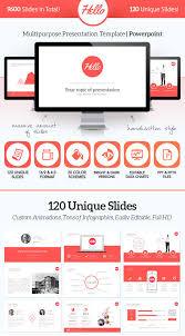 design logo ppt 15 flat powerpoint presentation templates web graphic design
