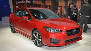 2017 subaru impreza sedan white 2017 subaru impreza sedan 5 door inaugurate global platform