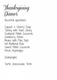 framed thanksgiving menu diy dinner menu sign the gardening cook