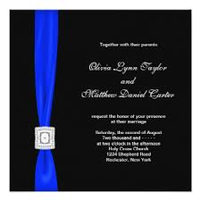 wedding invitations rochester ny cobalt blue wedding invitations announcements zazzle