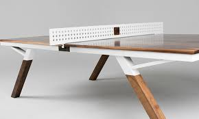 tabletop ping pong table the woolsey ping pong table is also a stylish piece of furniture
