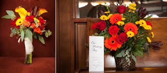 wedding flowers wi an fall wedding in kohler wi