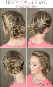 images of braids with french roll hairstyle 15 braided bun hair tutorials for diy projects pretty designs