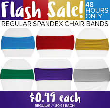 Spandex Chair Bands Cv Linens Flash Sale 0 49 Solid Spandex Chair Bands