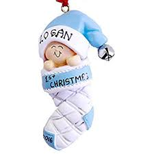 personalized baby block ornament baby s christmas ornament 2017 keepsake