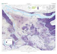 Portland On Map by Estimated Depth To Ground Water And Configuration Of The Water