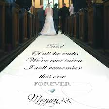 aisle runners for weddings walk of personalised wedding aisle runner black sheep