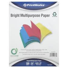resume paper without watermark paper products rite aid photo of print works paper bright multipurpose 100 sheets