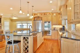 Light Wood Kitchen Attractive Light Wood Kitchens For House Decor Ideas With