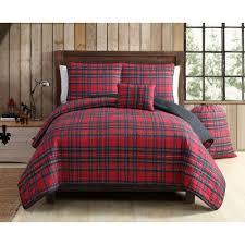 Plaid Bedding Set Three Posts Tartan Plaid Quilt Set U0026 Reviews Wayfair