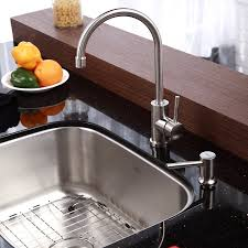 Cool Kitchen Sinks Cool Kitchen Sink Soap Dispenser New Home Design Efficient Of