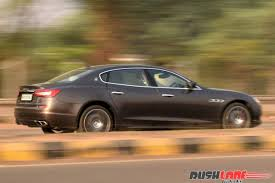 maserati india maserati quattroporte gts review first drive rushlane