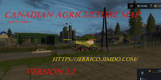 canadian map fs17 canadian agriculture map v 1 3 fs17 farming simulator 17 mod