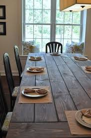 How To Make A DIY Farmhouse Dining Room Table Restoration - Dining room farm tables