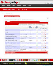 cleanguidepro janitorial bidding software janitorial proposals