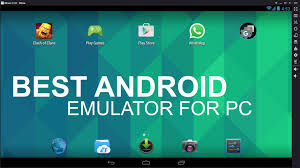 android emulator best android emulator for pc to run android apps tech2hack