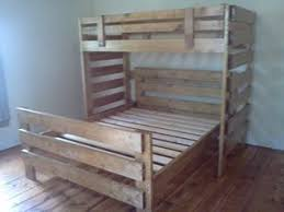 Wooden Bunk Bed Plans Free by 14 Best Bunk Beds Images On Pinterest 3 4 Beds Lofted Beds And