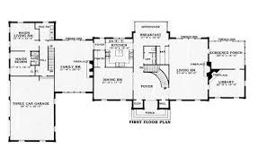 federal style house plans harrison 3840 6 bedrooms and 6 baths the house designers
