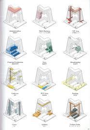 Architectural Diagrams Oma Ccn Tower Wayfinding Program Diagrams Board Pinterest