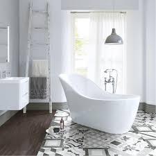 1520mm freestanding slipper bath modern bathroom acrylic white