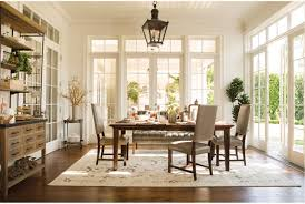 jefferson extension rectangle dining table living spaces