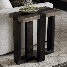 livingroom end tables bench made skyline side table