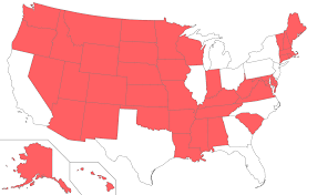 Maps Of Us Map Of Us States With A Population Smaller Than New York City