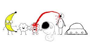 What Makes Me Me - my room mate made me a google doodle based off of rejected cartoons