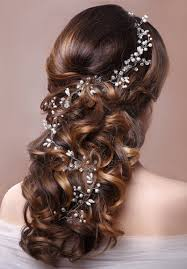 hair jewellery pearl wedding headband tiara bridal hair jewellery glitterz ltd