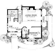 craftsman style house plan 2 beds 2 baths 1183 sq ft plan 1016