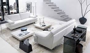 Modern White Home Decor by Black And White Home Decor Inspire White And Black Living Room