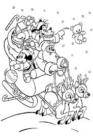 printable 24 mickey mouse christmas coloring pages 5760 mickey