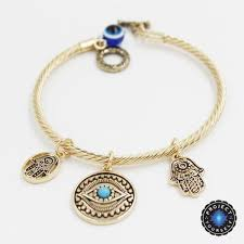 blue eye bracelet images Charming hand of fatima blue evil eye bracelet project yourself jpg