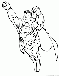 superman coloring pages 2