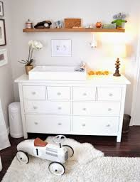 white nursery changing table table adorable living beautifully one diy step at a time nursery