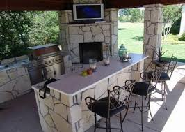 Outdoor Bar Cabinet Doors Exceptional Outdoor Kitchen Cabinets Modules With Painted Wood