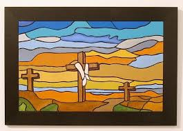 religious decorations for home resurection crosses religious wood by galleryatkingston on zibbet
