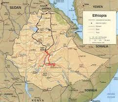 Map Of Ethiopia شبكة الإسراء والمعراج إسراج خريطة إثيوبيا الشاملة Map Of