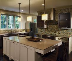 Painted Kitchen Islands Quartersawn Oak Cabinets With A Painted Kitchen Island