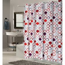 Stall Size Fabric Shower Curtain Stall Size Hookless Fabric Shower Curtains