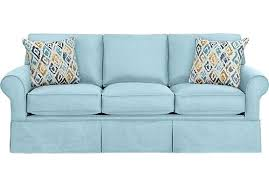 light blue sofa bed blue sofa bed sky light blue sofa classic transitional polyester